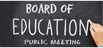 Board of Education Virtual Meetings